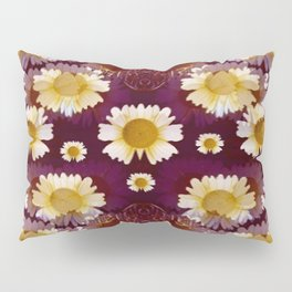 Celtic and Floral Pattern Pillow Sham