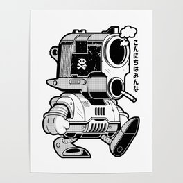 Dr Slump Posters For Any Decor Style Society6