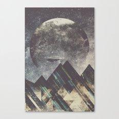 Sweet dreams mountain Canvas Print
