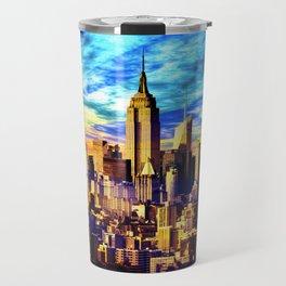 New York Sunrise Travel Mug