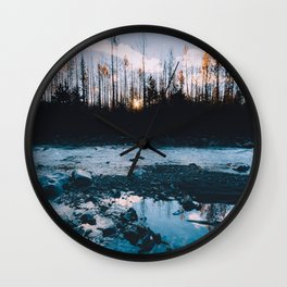 Rising Sun - Kenai Fjords National Park Wall Clock