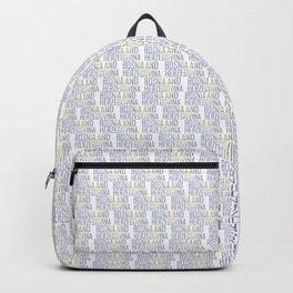 Made In Bosnia and Herzegovina Backpack