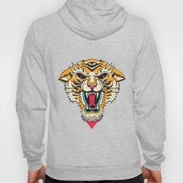 Tiger 3 Eyes Hoodie