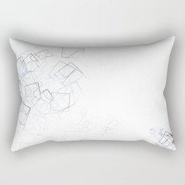 square fantasy shattered glass Rectangular Pillow