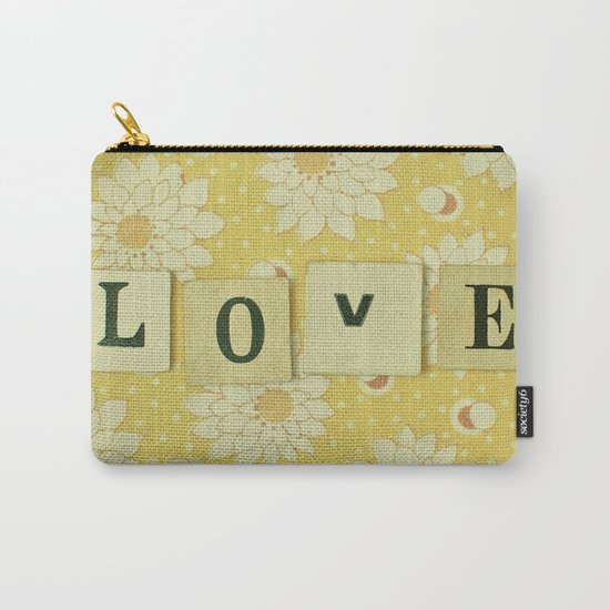 Love No.4 Carry-All Pouch