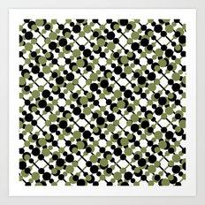 letve (green/black) Art Print