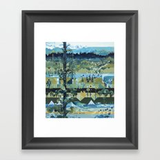 Landscaping Framed Art Print