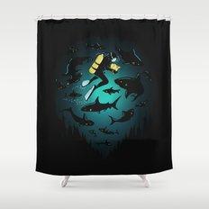 Screwed Shower Curtain