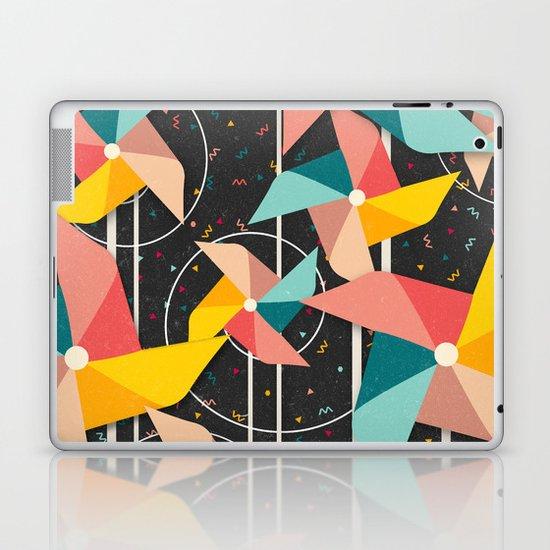 Colourful Pinwheels Laptop & iPad Skin