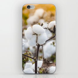 Cotton Field 4 iPhone Skin