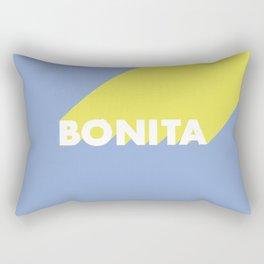BONITA Blue Rectangular Pillow