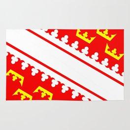 Alsace flag france country region Rug