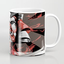 Samurai Flag Coffee Mug