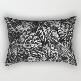 Pine Cone Pileup Rectangular Pillow