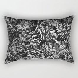 Pine Cone Pileup Rectangular Pillow