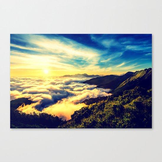 Mountains. Canvas Print