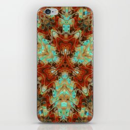 Scifi Rustic Geometric iPhone Skin