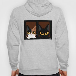 Lovely two cats Hoody