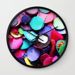 Confetti Sprinkle 2 Wall Clock