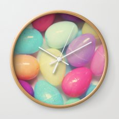 Easter Surprise Wall Clock