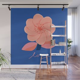 Abstraction_LOVE_IS_BLOSSOM Wall Mural