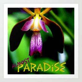Almost Paradise Art Print