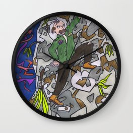 Colonel Forbin's Ascent Wall Clock