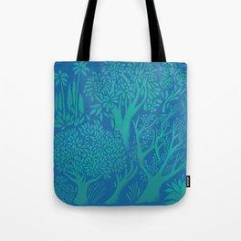 Blue Forrest Tote Bag