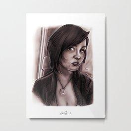 RGD Girl Portrait | Hika Tamari Metal Print