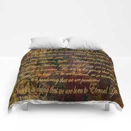 The Prayer of St Francis of Assisi Comforters