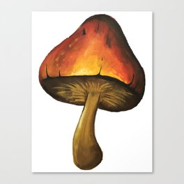 The one with the mushroom Canvas Print
