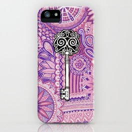 The key to success !  iPhone Case
