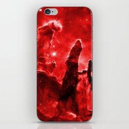 Eagle Nebula Red iPhone Skin