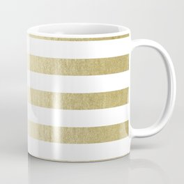 Simply Striped Gilded Palace Gold Coffee Mug