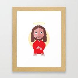 Son of god Framed Art Print