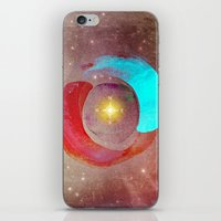 compass iPhone & iPod Skins featuring Compass by Iris Lehnhardt