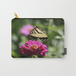 Colorful Swallowtail Butterfly Flying Carry-All Pouch
