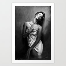 Charlize Theron Art Print