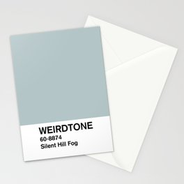 Silent Hill Fog Stationery Cards