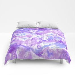 Marble Mist Lilac Comforters