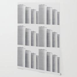 Industrial, architecture photography, fine art, black & white photo, b&w urban, man cave gift Wallpaper