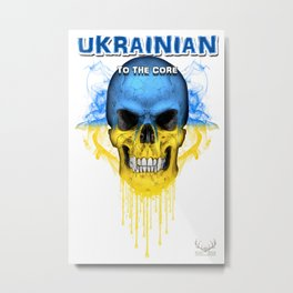 To The Core Collection: Ukraine Metal Print