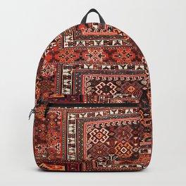 Luri Bakhtiari Khorjin Fragment Print Backpack