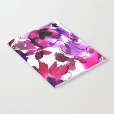 Sara Floral Pink Notebook