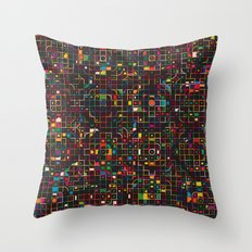 LED 3 Throw Pillow