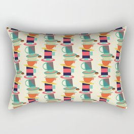 Coffee and Tea #society6 #decor #buyart Rectangular Pillow