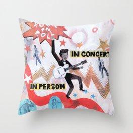 Rock & Roll! Throw Pillow