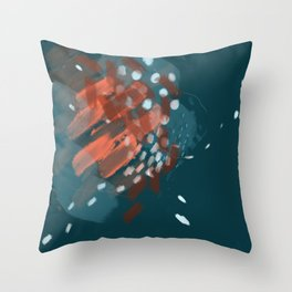 Squashed Fears Throw Pillow