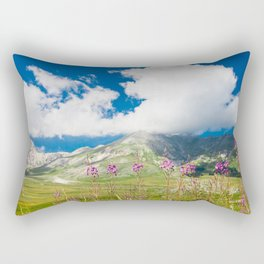 Italian mountain landscape Rectangular Pillow
