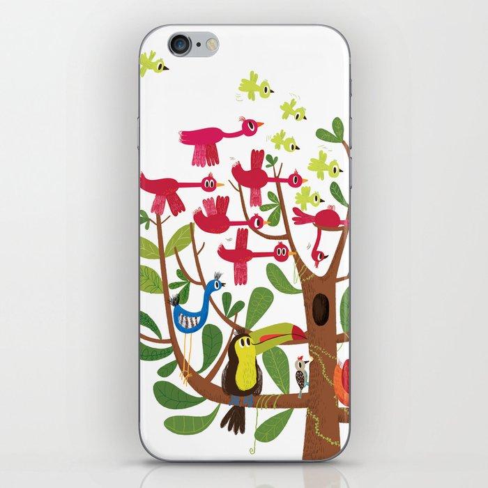 summer tree iPhone Skin